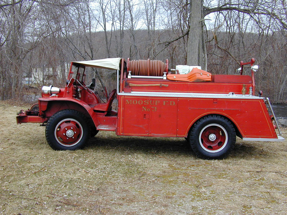 Moosup Fire Department Forestry 194