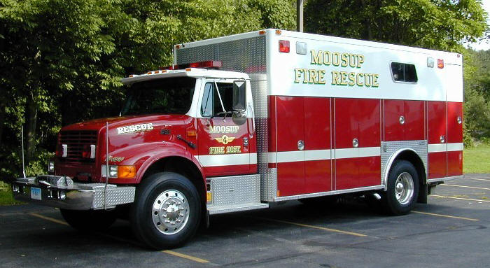 Moosup Fire Department Rescue 494