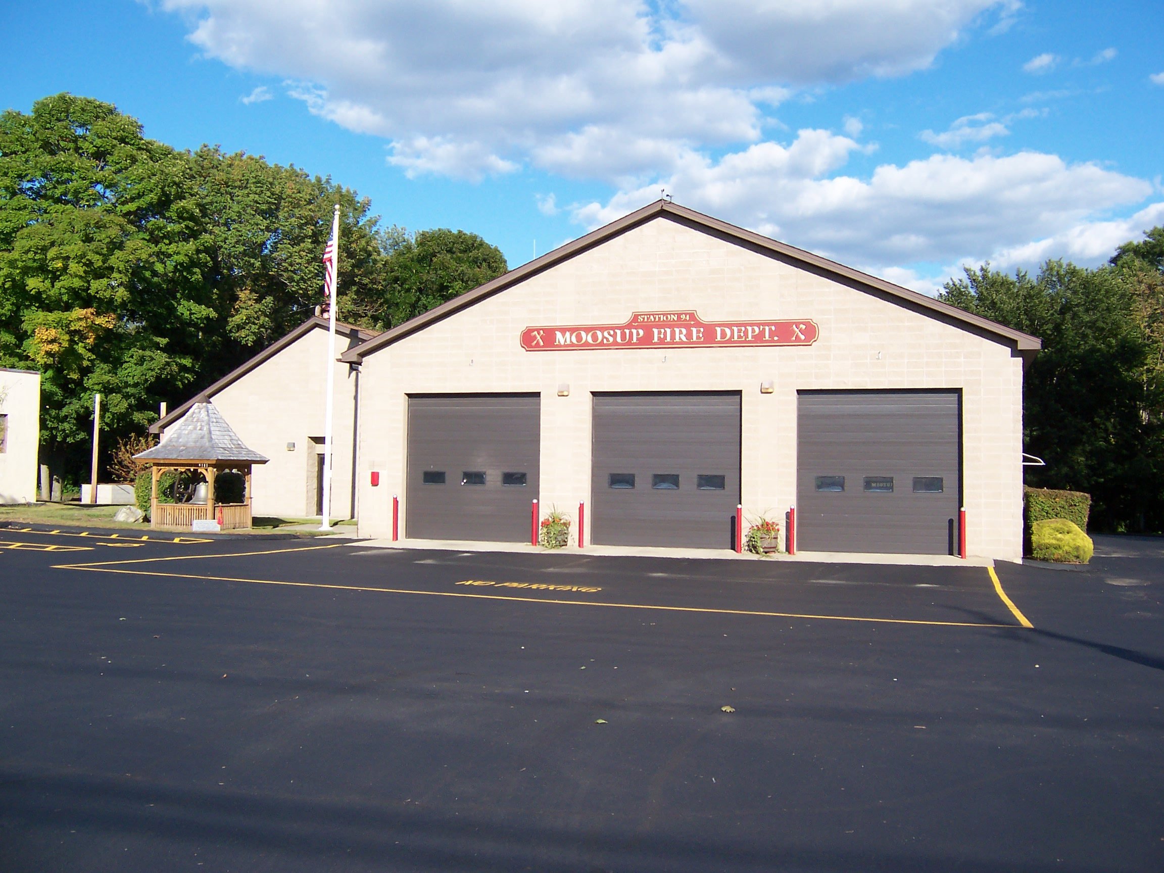 Full view of Moosup Fire Department